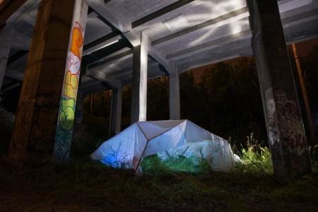 Dances of Resistance Installation under bridge-22